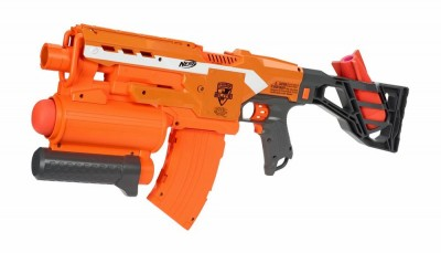 This is called the Demolisher. Yes Virginia, there is a Santa Claus - he's an arms dealer.