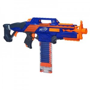 It's an SMG for the child soldier in your life.