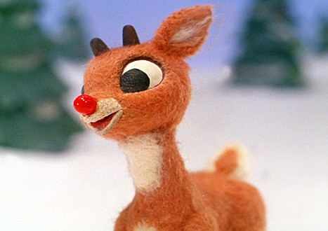 Look at me, I'm Rudolph! Star of classic holiday songs and unfortunately, this.