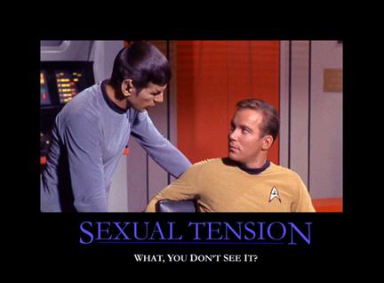 Spock Kirk Tension