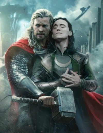 The magic of Photoshop. Wait, this is actually the Chinese Poster for the movie.