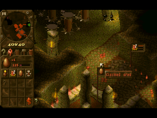 Dungeon Keeper lets players build many kinds of rooms for the perfect dungeon.