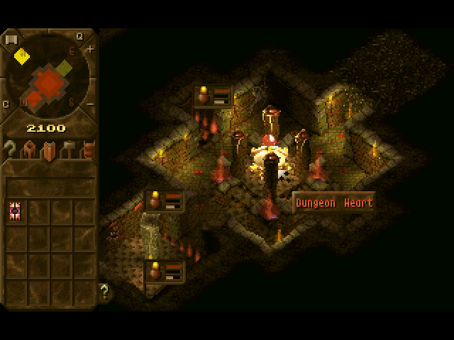 At the heart of every dungeon keeper's dungeon, is the, well, the dungeon heart.