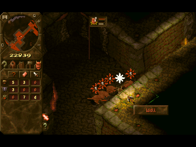 Creating more advanced rooms in Dungeon Keeper can attract more powerful minions, such as demon spawn.