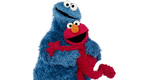 Playing the part of Mischa in this literary brutalizing is Elmo.