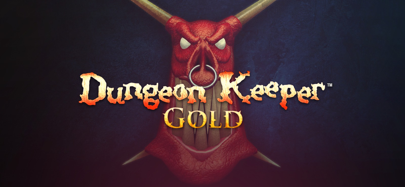 Dungeon Keeper, released in 1997 by Bullfrog Productions, rereleased several years later as Dungeon Keeper Gold.