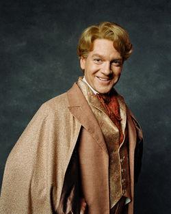 Gilderoy Lockhart, looking pleased with himself.