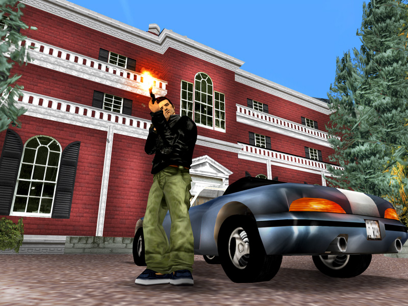 Games like Grand Theft Auto III place players in the role of the bad guy.