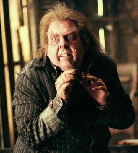 Peter Pettigrew, looking ratty and up to no good.