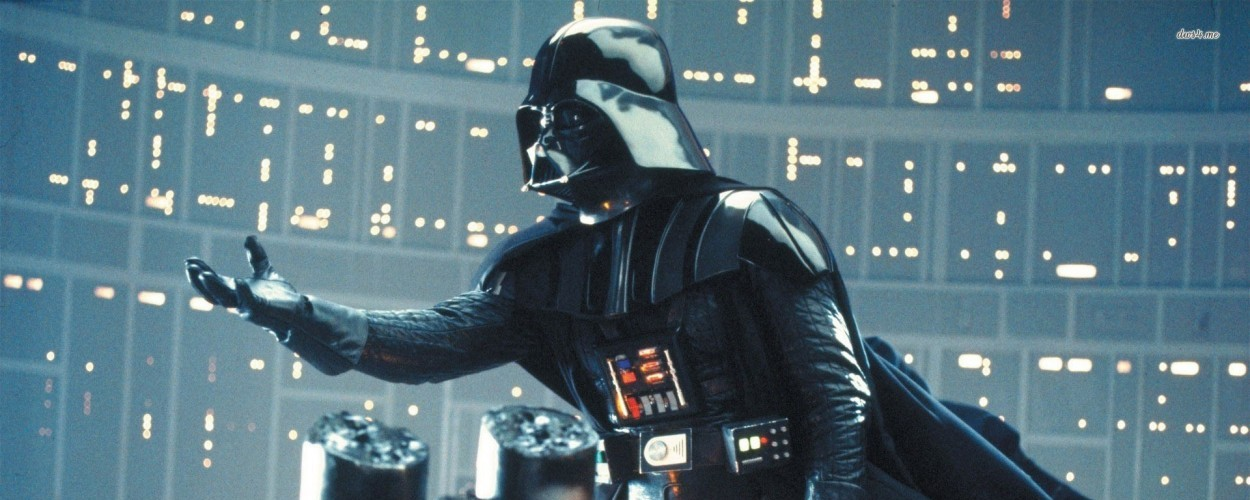 Vader extends his hand, and with it, a villainous offer.