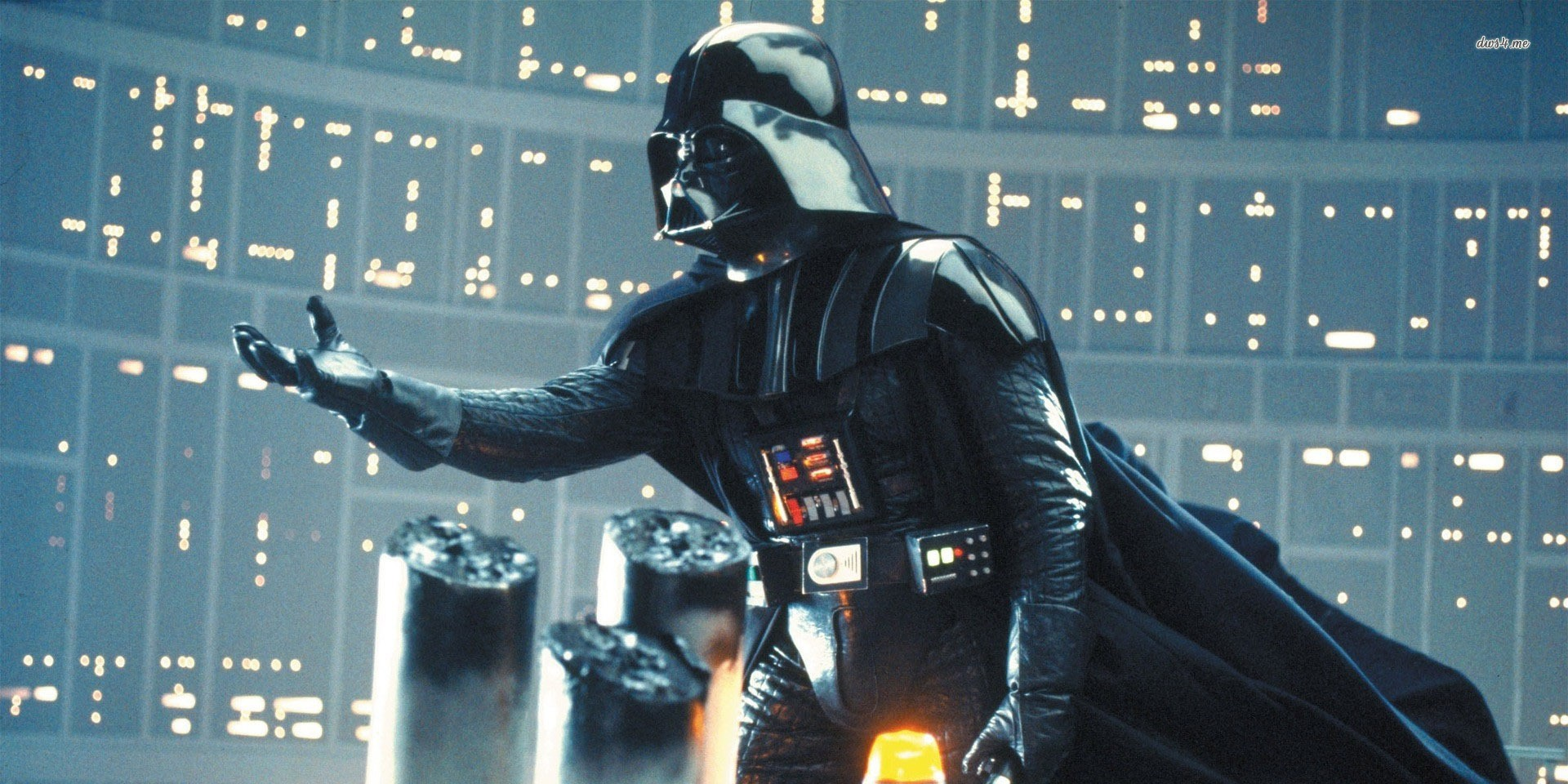 Vader extends his hand, and with it, a villainous offer. The reason behind the offer are why he is a sympathetic villain.