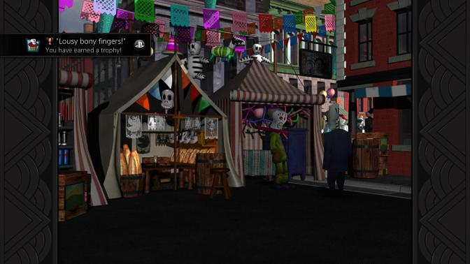 Grim Fandango's inspired Dia De Los Muertos setting is combined with noir elements that makes a wholly unique experience.