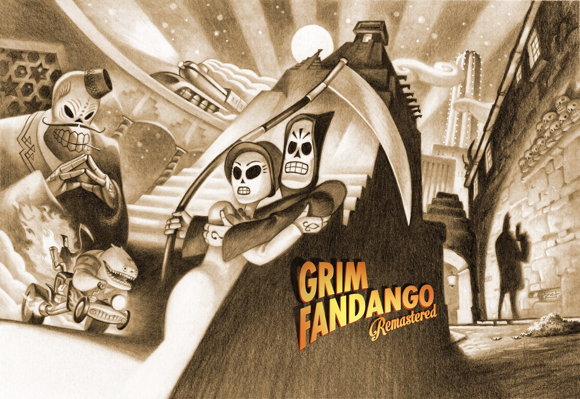 Grim Fandango Remastered is Double Fine's update of a beloved 1998 adventure game.