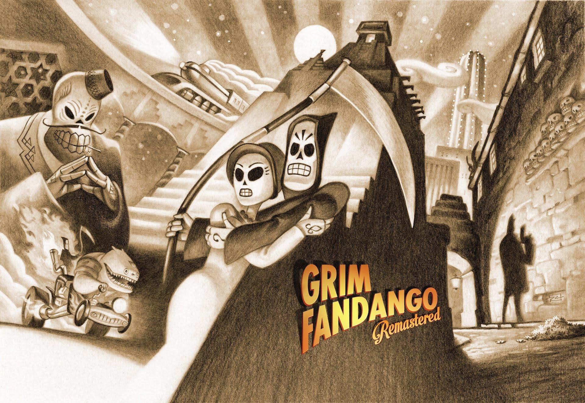Grim Fandango Remastered is Double Fine's update of a beloved 1998 adventure game.