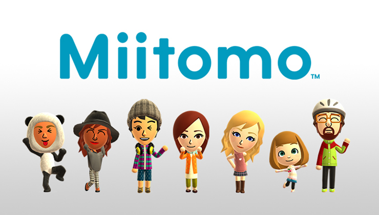 Miitomo is Nintendo's first mobile app, a mix of game and social network.