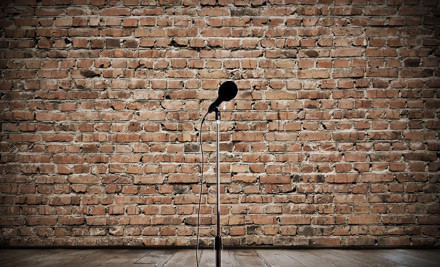"I'm not sure why comedy clubs have brick walls like this. Gives off a, ""Political Execution"" vibe to me."