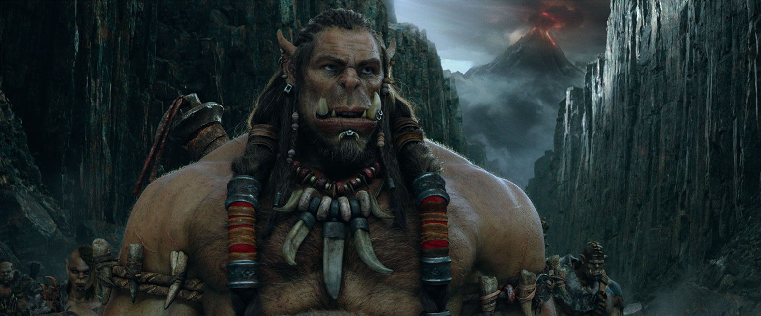 The Warcraft film's Durotan is one of the good guys on the bad guys' side.