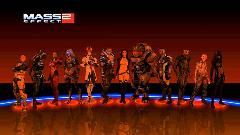 Mass Effect 2's cast of characters prepared you to have the authentic space opera experience.