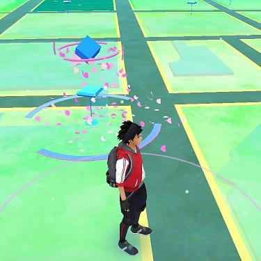 PokeStops are littered across the map as real locations. Visit them to gain XP and items. (Source: Oregon Live)