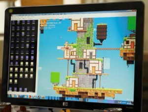 The Fez development kit. It looks a lot like an art program, and odds are that is crashes occasionally.