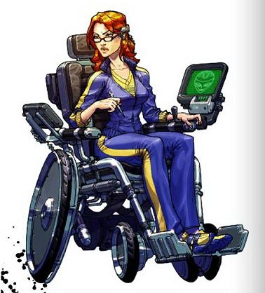 Barbara Gordon - or Oracle, is what happens when a superhero turns into a hacker. It's pretty amazing.