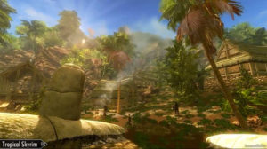 Tropical Skyrim in the best.