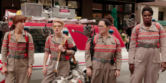 Dr. Gilbert, Dr Yates , Dr. Holtzmann and Patty Tolan round out the cast.