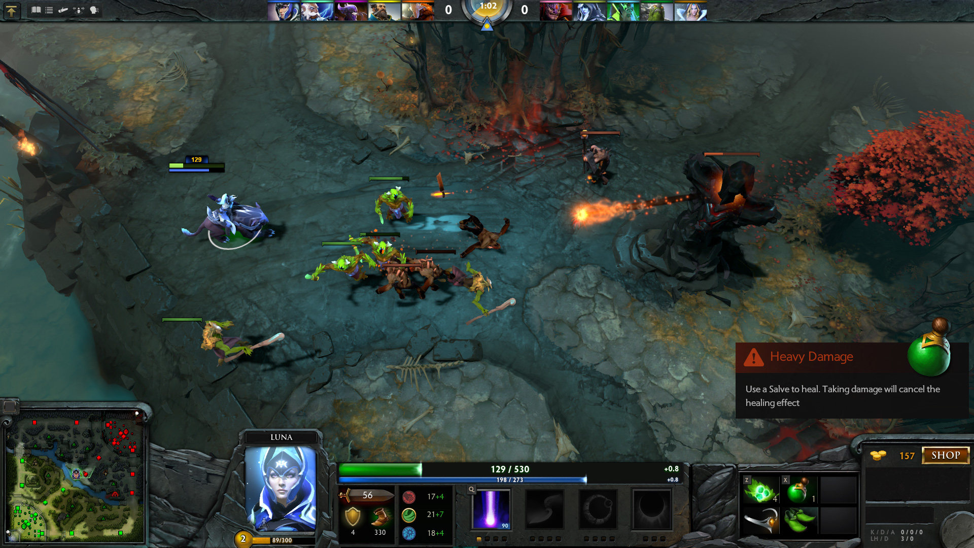 Dota 2 by Valve is mechanically exactly the same as DotA, but with graphical improvements and updated engine.