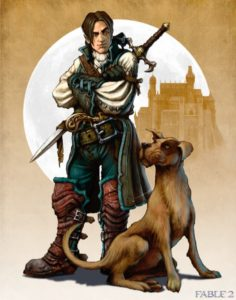 Fable 2 - there is a dog now, are you happy?