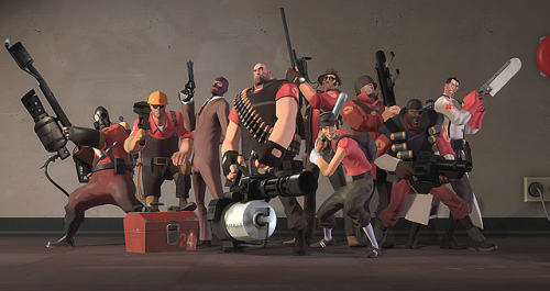 Team Fortress 2 was years in development as it figured out what it wanted to be.