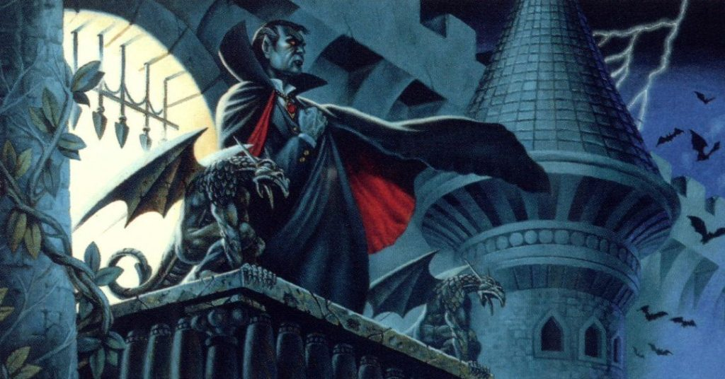 There are also campaign settings you can use. This one for example is called Ravenloft, and it's sweet.